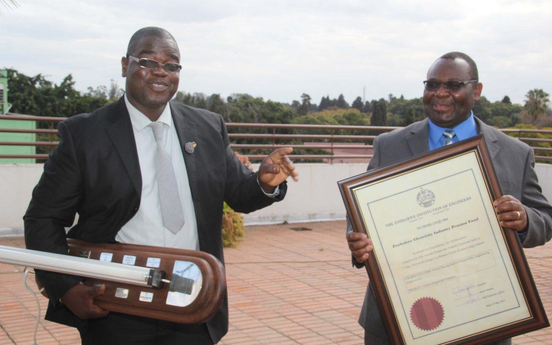 Gweru Megawatt Shopping Complex – Engineering Life Achievement Award